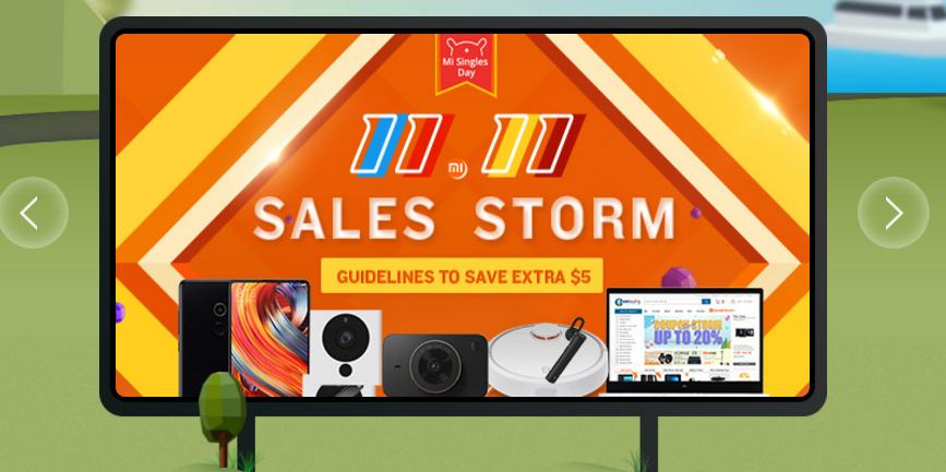 geekbuying sales storm november