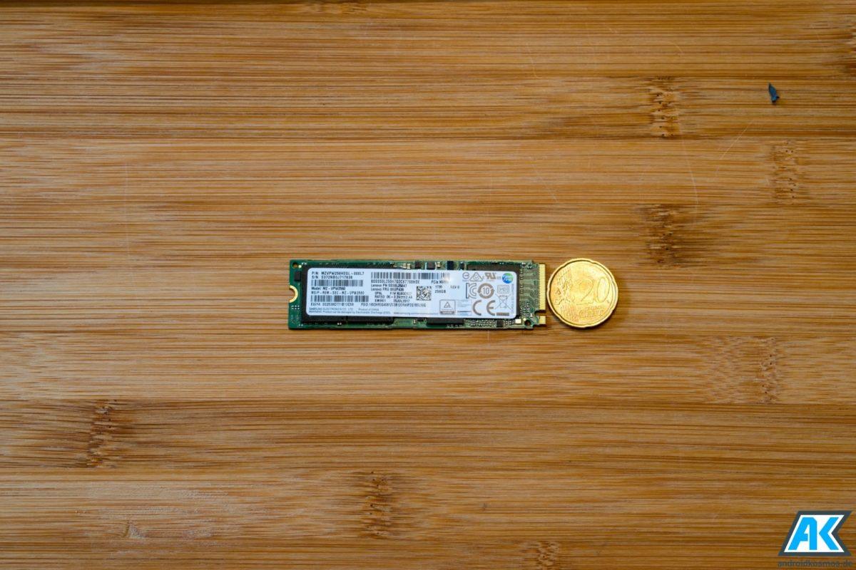 Xiaomi Mi Notebook Pro 15.6: Anleitung SSD austauschen oder erweitern 2