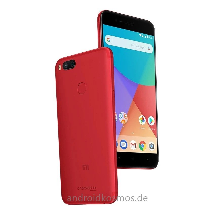 xiaomi mi a1 64gb red snapdragon 2