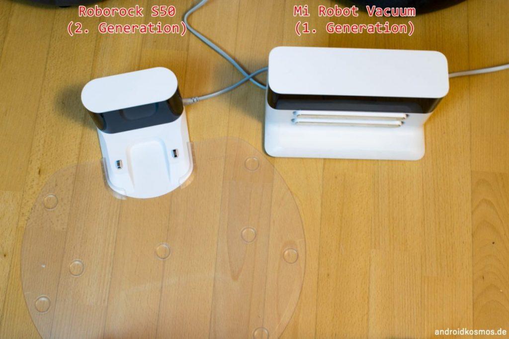 Roborock S50 vs Mi Robot Vacuum
