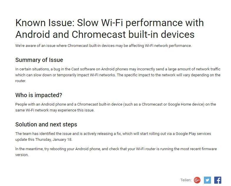 Androidkosmos Google Home Wifi