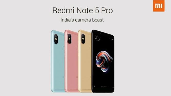 Xiaomi enthüllt Redmi Note 5 und Redmi Note 5 Pro