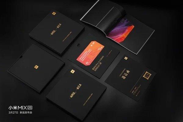 Mi MIX 2S Launch Invitations 5