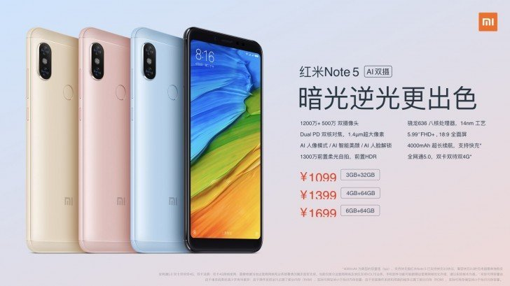 Redmi Note 5 Price2