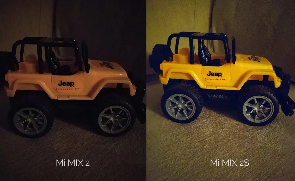 Mi Mix 2s Kamera