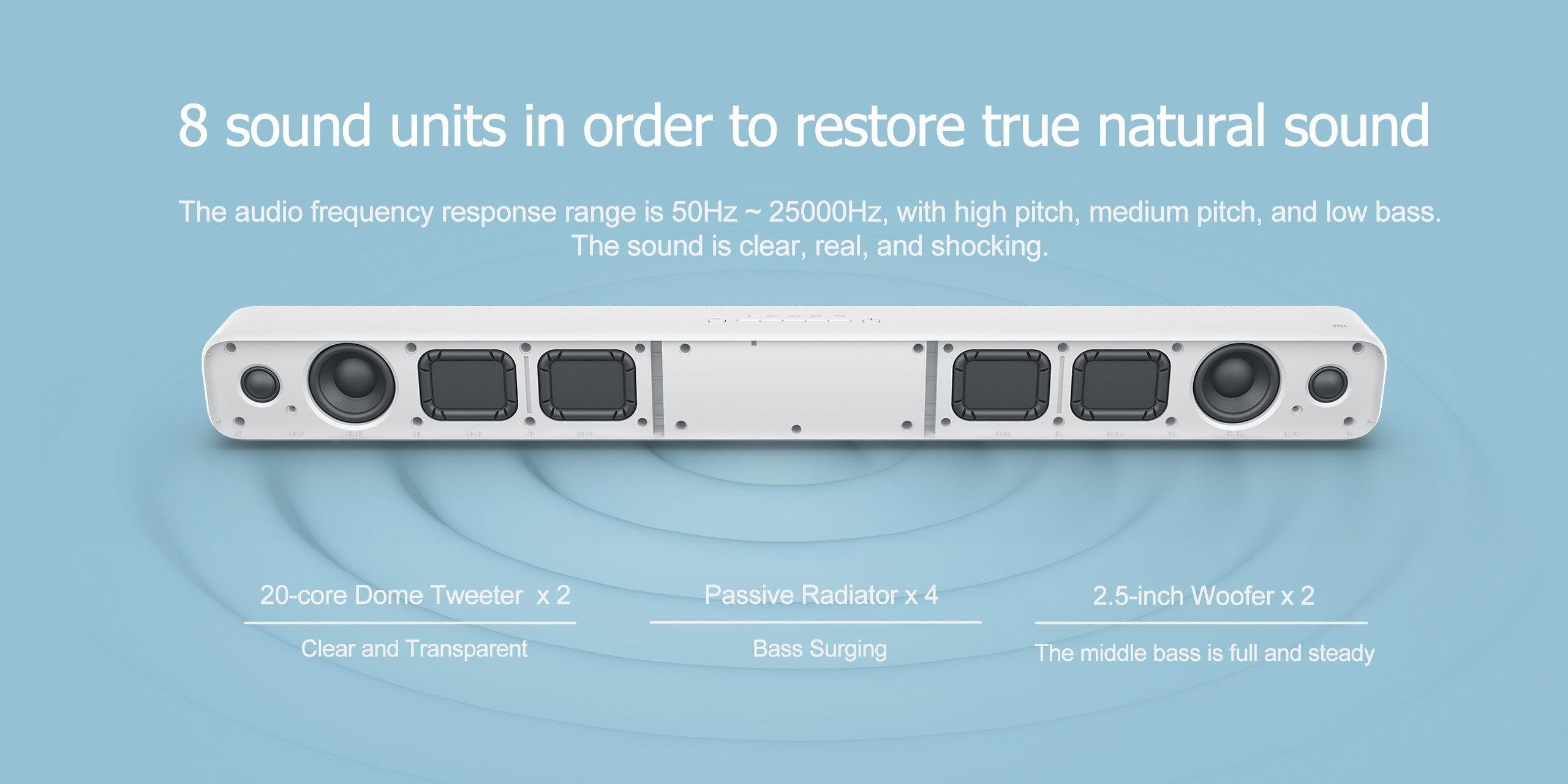 Xiaomi Lautsprecher Test Elegante 33 Zoll Tv Soundbar