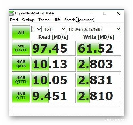 AndroidKosmos.de Sandisk 400GB Bench