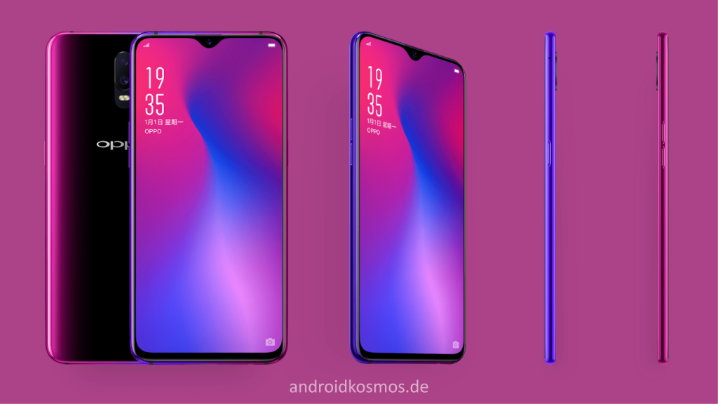 Oppo R17 Smartphone - Starry Purple - AndroidKosmos