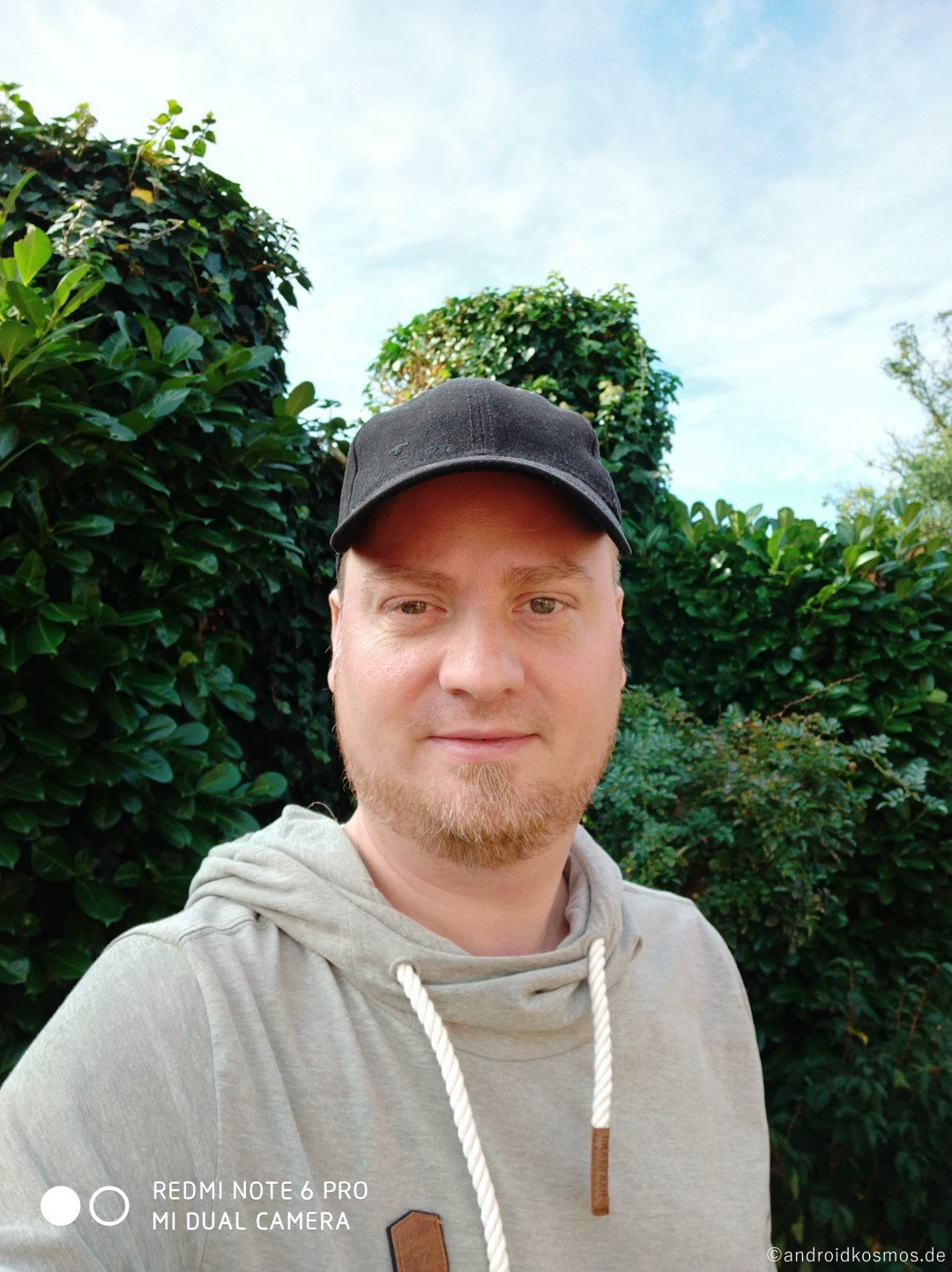 Redmi Note 6 Pro Selfie