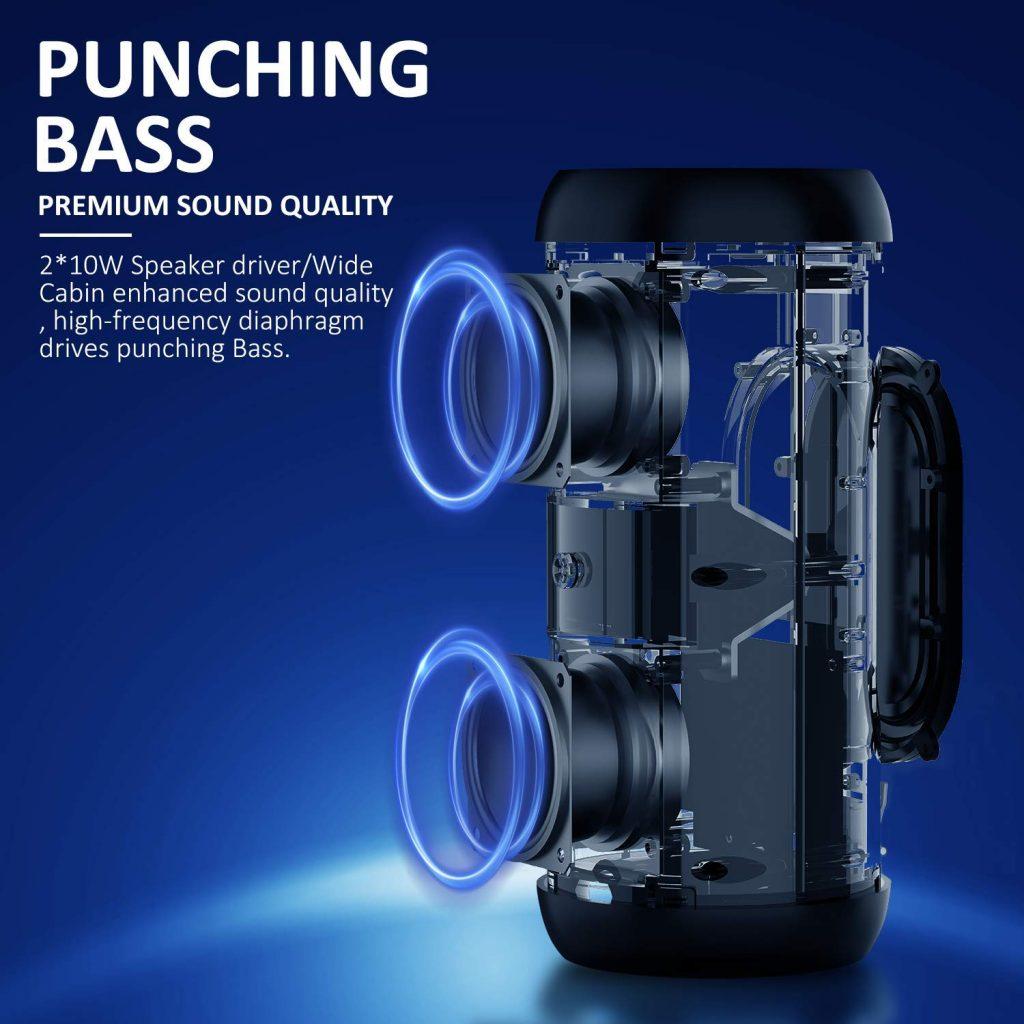 Zenbre Speaker-Aufbau