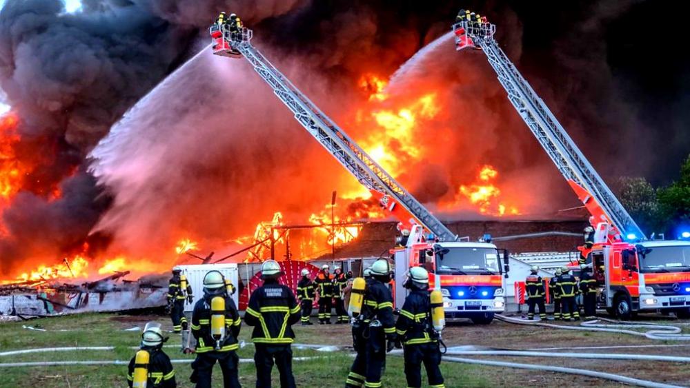 Explosion Hohen Neuendorf
