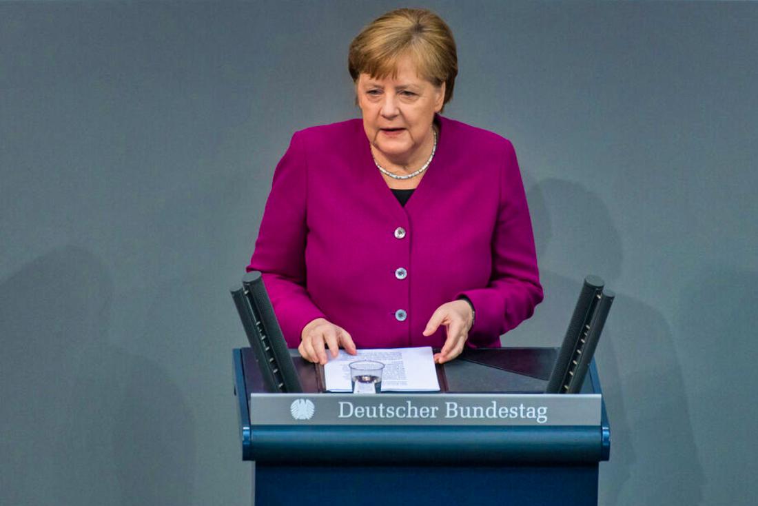 Merkel Heute Rede